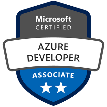 Microsoft Certified: Azure Developer
